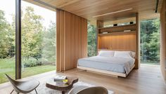 Sliding Full Length Interior Privacy/light Shutters.   LM Guest House by Desai Chia Architecture