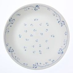 Buy Corelle Livingware: Plate - Provincial Blue online and save! Corelle® Livingware™… The original break and chip resistant glass dinnerware. Blue Dinner Plates, Dinner Plate Sets, Blue Plates, Plates And Bowls, Dinner Sets, Corelle Plates, Corelle Dinnerware Sets, Corelle Sets, Corelle Dishes