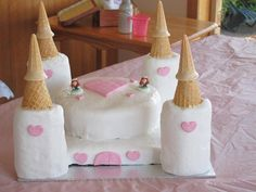 How to make a Princess Castle Birthday Cake – just hours before the party Princess Cakes, Princess Castle, Princess Party, Girl Birthday, Birthday Parties, Birthday Ideas, Castle Birthday Cakes, Raising Girls, Fun Activities For Kids