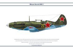 МиГ 3 7 IAP 1 от WS-Clave