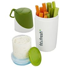 Healthy Food Snack Container with Removable Ice Pack