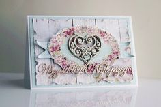 Scrapiniec inspirations on blogspot: Best wishes on cards