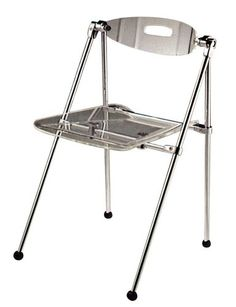 Set Of Two Clear Acrylic Telescoping Chairs Fine Mod Http://www.amazon