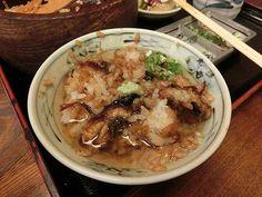 Unagi and rice