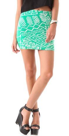 love this mint skirt!