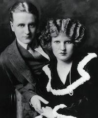 1920's. Scott and Zelda Fitzgerald