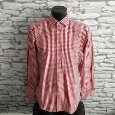 Size 16 Inches Shirts Intelligent Mens T M Lewin John Francomb Style Multi-striped Shirt