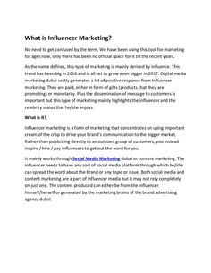What is Influencer Marketing Creative Advertising, Advertising Agency, Digital Media Marketing, Video Maker, How To Get, How To Plan, Influencer Marketing, 3d Animation, Uae