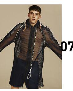 Xander Zhou SS15 Lookbook 7 Duex Hommes