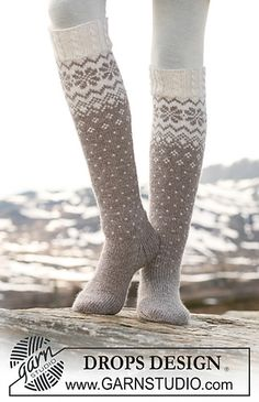 Ravelry: 116-47 socks with Norwegian pattern and cables pattern by DROPS design