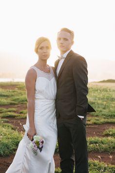 weddings by willy  meghan haleiwa beach wedding sunset portrait