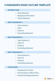 5 Paragraph Essay Outline Example Inspirational the Best 5 Paragraph Essay Outline Best Essay Writing Service, Essay Writing Skills, Paper Writing Service, Academic Writing, Writing Rubrics, Opinion Writing, Essay Writing Structure, Thesis Writing, Essay Writer