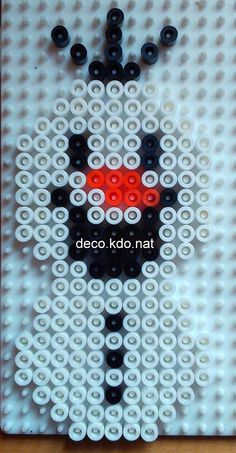Chibi Olaf  - Frozen hama beads by Deco.Kdo.Nat