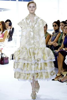 2016春夏プレタポルテコレクション - デルポソ(DELPOZO)ランウェイ|コレクション(ファッションショー)|VOGUE