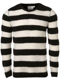 Black Stripe Jumper