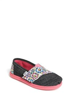 I have these waiting in the closet. Can't wait for Annaleigh to fit into them!  TOMS 'Classics - Tiny' Slip-On (Baby, Walker