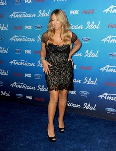 """Mariah Carey Photos - Judge Mariah Carey attends the FOX """"American Idol"""" finalists party at The Grove on March 7, 2013 in Los Angeles, California. - 'American Idol' Finalists Party 2"""