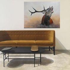 Peinture originale huile sur toile Love Seat, Couch, Furniture, Home Decor, Oil On Canvas, Decoration Home, Small Sofa, Sofas, Home Furnishings