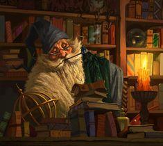 Rpg Harry Potter, Mago Merlin, Fantasy World, Fantasy Art, Fantasy Faction, Character Art, Character Design, Fantasy Wizard, Gandalf