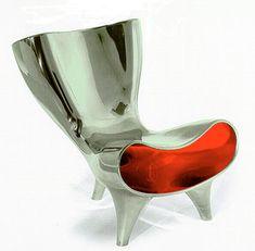 My second favorite chair, if money were no object Marc Newson, brilliant designer 2