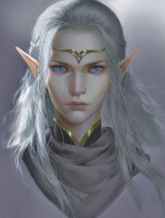 Fantasy Races, High Fantasy, Fantasy Women, Fantasy Rpg, Medieval Fantasy, Fantasy Girl, Fantasy Portraits, Character Portraits, Fantasy Artwork