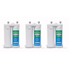 Aqua (Blue) Fresh Replacement Water Filter Cartridge for Electrolux Ngfc-2000 Filter - (3 Pack)