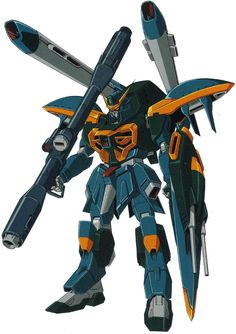 "The GAT-X131 Calamity Gundam is a Mobile Suit in the anime series Mobile Suit Gundam SEED. It is piloted by ""Biological CPU"" Orga Sabnak."
