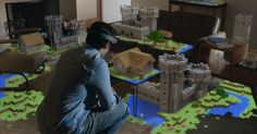 """Microsoft announced Windows Holographic -- technology that gives us a """"world with holograms."""""""
