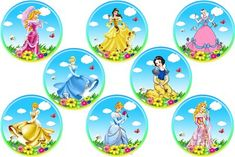 Cupcake Art, Cupcake Toppers, Bottle Cap Images, Princess Party, Embellishments, Diy And Crafts, Clip Art, Tableware, Cards