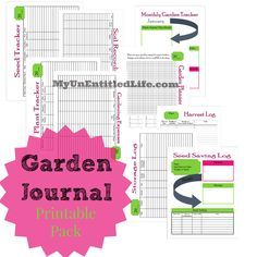 Journal Printable Pack Free month by month planner for your garden Garden Journal printable pack for free. Keep track of all things gardening!Garden Journal printable pack for free. Keep track of all things gardening! Monthly Planner, Printable Planner, Free Printables, Planner Journal, Raised Garden Bed Plans, Garden Planner, Garden Journal, Square Foot Gardening, Gardening For Beginners