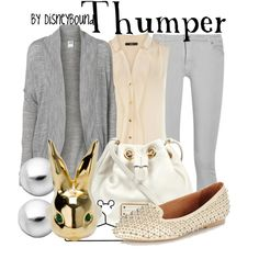 """""""Thumper"""" by lalakay on Polyvore"""