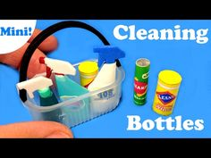 DIY Miniature Baby Doll Sippy Cup (Liquid Inside) - YouTube