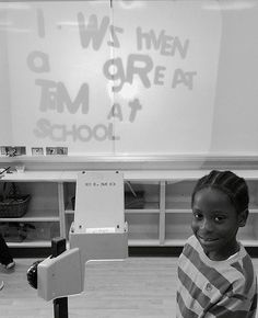 Fun writing experience in kindergarten using an over head!  Check out our blog and register for a Early Years writing webinar!