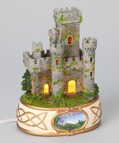 Take a look at this Lighted Irish Castle Figurine by Roman, Inc. on #zulily today!