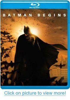 BATMAN BEGINS Blu-Ray Movie Includes Ultraviolet Download