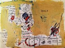 Jean-Michel Basquiat, Wolf Sausage, 1983.
