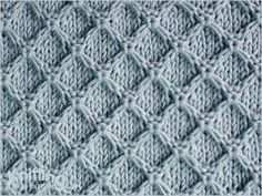 diamond-honeycomb-stitch