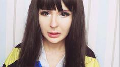 Park Bom makeup tutorial by Anastasiya Shpagina