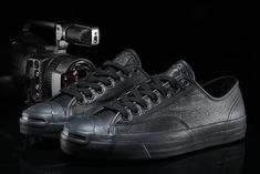 Converse CONS Jack Purcell Pro Ox Black-Out Receiving the coveted blacked-out treatment just in time for winter. Go to Source Author: Mike Waldron... http://drwong.live/sneakers/gx1000-x-converse-cons-jack-purcell-pro-ox-black-out/