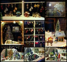 Das Weihnachts-Schaufenster 2018 des Klunkerfisch-Ladens in Halle (Saale). Halle, Christmas Tree, Holiday Decor, Home Decor, Handmade Jewelry, Pisces, Nice Asses, Pictures, Teal Christmas Tree