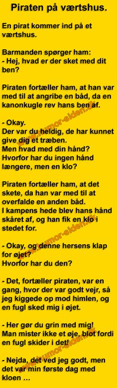Piraten på værtshus. Funny Signs, Chess, Funny Stuff, Hilarious, Thoughts, Historia, Pirates, Gingham, Funny Things