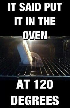 Cooking humor  ...  laughed so hard at this one that I ended up with a coughing fit!