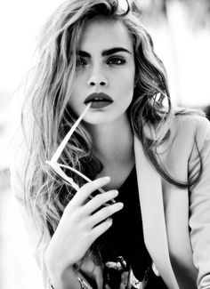 cara delevingne.. Love this girl & her eyebrows