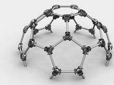 Geodesic Dome Connector by knelso - Thingiverse