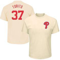 "Odubel Herrera ""Torito"" Philadelphia Phillies Majestic Youth 2017 Players Weekend Name & Number T-Shirt - Cream"