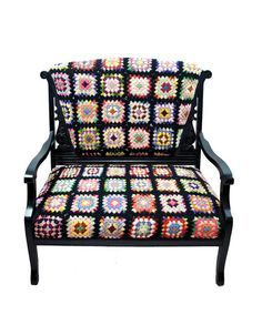 RePurpose Shop — RePurposed Afghan Settee A