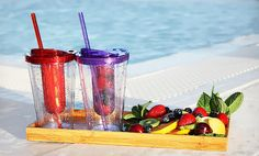 Groupon - $ 13.99 for a 2-Pack of 16 Oz. Fruit-Infuser Tumblers ($ 23.98 List Price). Free Returns.. Groupon deal price: $13.99