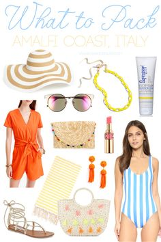 Packing for Summer on the Amalfi Coast