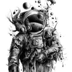 Kunst Tattoos, Body Art Tattoos, Circle Tattoos, Owl Tattoos, Fish Tattoos, Cool Drawings, Tattoo Drawings, Tattoo Sketches, Space Drawings