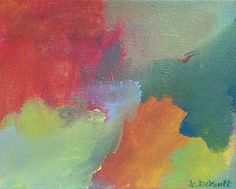 "The Softness Around Me by Laurie DeVault Acrylic ~ 8"" x 10"""